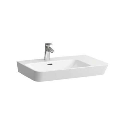 817542 - Laufen Moderna 700mm x 465mm Washbasin with Right Shelf - 8.1754.2